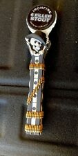 """IRONFIRE BREWING  """"6"""" KILLER STOUT FIGURAL CRAFT BEER TAP HANDLE"""
