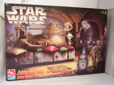 STAR WARS - JABBA THE HUTT THRONE ROOM ACTION SCENE - AMT