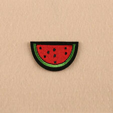 Water Melon Iron on Sew on Embroidered Patch Badge Motif  For Clothing Applique