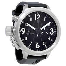 U-Boat Flightdeck 55 Chronograph Automatic Black Dial Mens Watch 1757