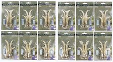 12 PK LOT DEER ANTLER DRAWER PULL Cabinet Handle Knob SET Hunting Decor