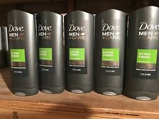 Dove Men + Care Extra Fresh Body and Face Wash 13.50 oz (Pack of 5)