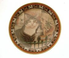 Lesley Anne Ivory's Cats plate Harry in the Pekes and the Pollicles Cat GB150