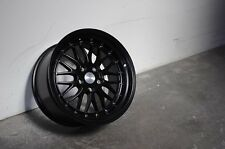 17x8.5 Inch +30 ESR SR05 5x120 Matte Black Wheels Rims BMW E36 E46 E90 Z3 Z4 M3