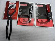 "Craftsman AUTO Oil Filter Pliers and Wrench Set, 2 7/8"" to 3 7/8"", USA, 3 pcs"