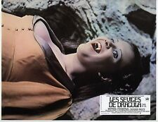 JUDY MATHESON TWINS OF EVIL HAMMER 1971 VINTAGE FRENCH LOBBY CARD N°7 DRACULA