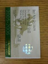 17/03/2006 Horse Racing Ticket: Cheltenham Festival - Gold Cup (slight creasing)