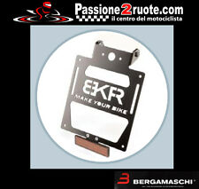plaque d'immatriculation moto Bkr yamaha xj6 - xj6 diversion 09 port licence