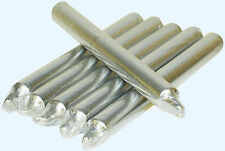 TAPERED DINNER gold silver chrome CANDLES NON-DRIP CANDLE INDIVIDUALLY WRAPPED