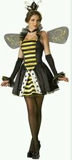 "Incharacter Costume Halloween Womens ""Queen Miss Bee"" Sexy Costume, Size Medium"