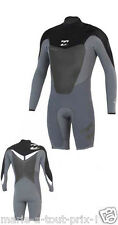 Combinaison de surf Billabong FOIL 2mm LONG SLEEVE SPRING SHORTY wetsuit J42M17