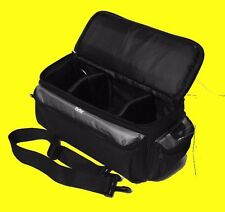 LARGE SIZE PRO CARRYING CASE BAG to  DIGITAL CAMERA CAMCORDER HANDYCAM 13X5X7