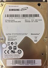"Samsung SpinPoint M9T 2000GB 2,5"" SATA-600 32MB (ST2000LM003) 5400RPM PS4 HDD"