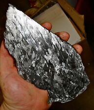 BEAUTIFUL 565 GM CAMPO DEL CIELO ETCHED METEORITE SLAB!!