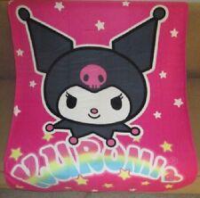 NEW Pink Kuromi Devil Mini SOFT Fleece Throw Gift Blanket Hello Kitty Sanrio NIP