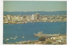 Auckland City From Mount Victoria Devonport Postcard New Zealand 582a