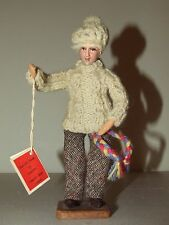 "Vintage 1950's Handmade ""Aran Fisherman"" Irish Folk Art Doll by Jay Of Dublin M1"