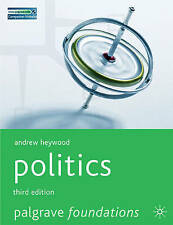 Politics (Palgrave Foundations Series), Heywood, Andrew Paperback Book