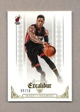2014/15 Panini Excalibur MARIO CHALMERS Gold Parallel Base SP 9/10 Mint Heat