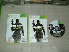CALL OF DUTY MODERN WARFARE 3......MICROSOFT XBOX 360 GAME COMPLETE PAL COD MW3