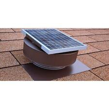 Solar Powered Exhaust Fan Roof Vent Attic Ventilator Mount vents 365 CFM Panel
