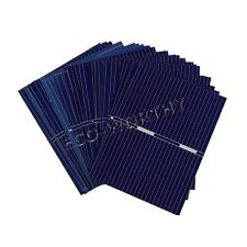 40pcs 52x38mm Solar Cell Cells Sunpower for DIY Car Boat RV Module Toy 10W Panel