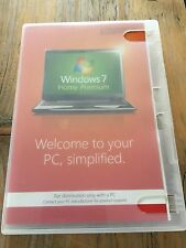 Windows 7 Home Premium, 64 bit con HOLO DVD, inglese, SB merce con fattura IVA