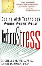 TechnoStress: Coping with Technology @Work @Home @Play-ExLibrary