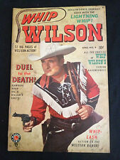 WHIP WILSON #9 VG+/F- Condition