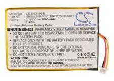 Battery for SkyGolf SkyCaddie SGXw, SkyCaddie SGX GPS Rangefinder, GPS0320MG051