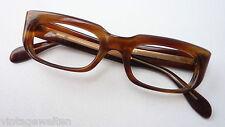 Seltene 60erJahre Brille Orginalfassung ungetragen klein massiv Acetat Metzler S