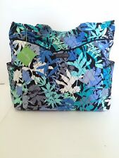 NWT Vera Bradley Pleated Tote Shoulder / Hand Bag In Camofloral