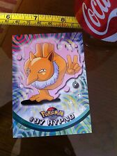#97 Hypno Topps Pokemon Card Rare Official Vintage Nintendo
