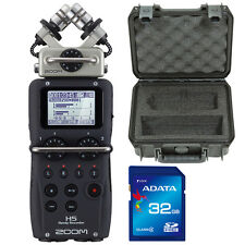 ZOOM H5 Portable Handheld Recorder Bundle w/ SKB iSeries Case & 32GB SDHC Card