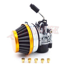 Race Carburetor Air Filter Carb Jets Set Fit 49 50 60 66 80cc Motorized Bicycle