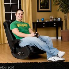 Gaming Chair Wireless Game Room Audio Rocker w/Subwoofer Xbox One 360 PS3 PS4