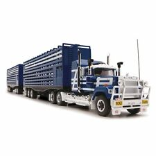 1/64 Mack Road Train Livestock Truck by Highway Replicas 1200 Made NEW