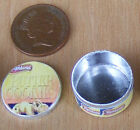 1:12 Scale Empty Biscuit - Cake Tin Dolls House Miniature Kitchen Accessory ct1