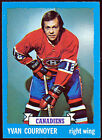 1973-74 TOPPS #157 YVAN COURNOYER NM MONTREAL CANADIENS HOCKEY FREE SHIP TO USA