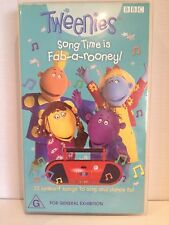 TWEENIES SONG TIME IS FAB-A-ROONEY ~  VHS VIDEO ~ FREE POST