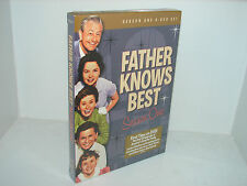Father Knows Best - Season One  (DVD, 2008, 4-Disc Set, Closed Caption)  **NEW**