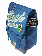 Backpack KISSES E HUGS BASIC BLUE Separable by CARTORAMA OFFER DISCOUNT 50%