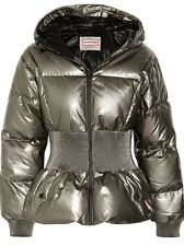 HUNTER ORIGINAL Outer Space Metallic Coated Cotton Down Jacket Size Large NWT