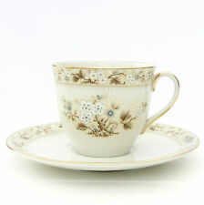 Vintage Royal Doulton Mandalay Fine China Tea Cup Saucer Duo Set