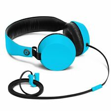 NOKIA WH-530 COLOUD BOOM ON-EAR HEADPHONES WITH MIC TANGLE-FREE CABLE-CYAN/BLUE