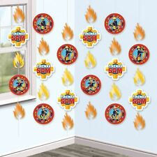 36ft x Fireman Sam Birthday Party Hanging String Decorations