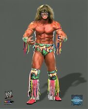 """THE ULTIMATE WARRIOR WWE PHOTO STUDIO 8x10"""" OFFICIAL WRESTLING PROMO"""