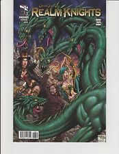 Realm Knights #3 Cover B Unleashed GFT Grimm Fairy Tales Zenescope NM Reyes