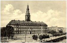 Kopenhagen Dänemark alte Postkarte 1961 gelaufen Blick auf Schloß Christiansburg