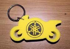 Yamaha Motorcycle Foam Green / White / Yellow Key Fob Ring Clearance